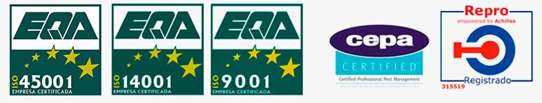 En Plaguefit contamos con las certificaciones y sistemas de calidad más exigentes del mercado